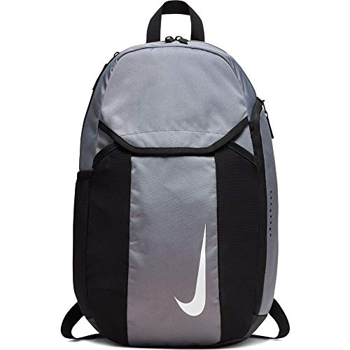 Nike NK ACDMY Team Bkpk Sports Backpack - Cool Grey/Black/(White), MISC