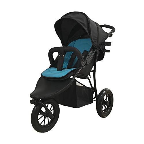 knorr-baby 883064 - Passeggino sportivo Funsport3, colore: Nero/Blu