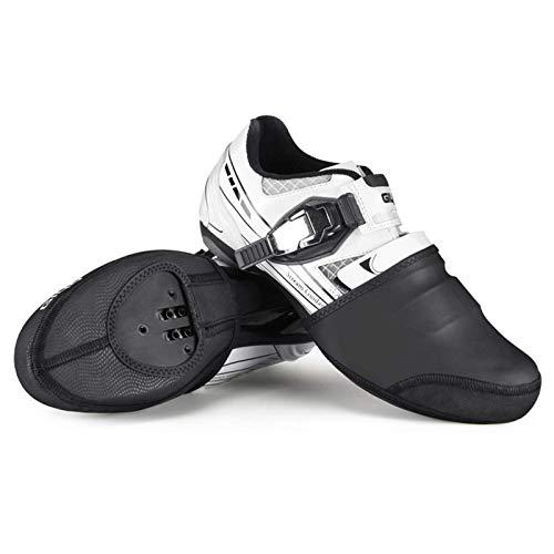 Cubierta para zapatos de ciclismo, media palma, impermeable, resistente al viento y cálido, para bicicleta de montaña, para deportes al aire libre (M)