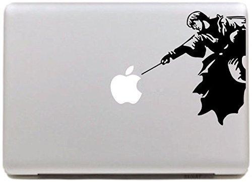 Vati fogli smontabili Harry Potter decalcomania del vinile autoadesivo della pelle Art nero per Apple Macbook Pro Air Mac 13'pollici/Unibody 13' Inch Laptop