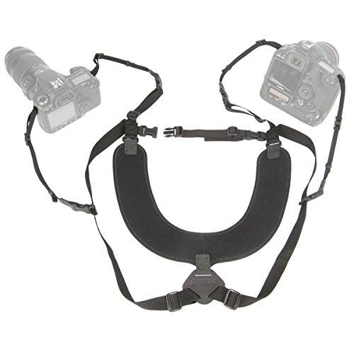 "OP/TECH USA Dual Harness 3/8"" Regular - Two-Camera Harness"