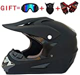 CHEYAL Adult Motocross Helm MX Motorradhelm ATV Scooter ATV Helm D. O. T Zertifiziert Rockstar...
