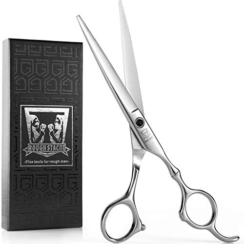 Hair Scissors -VERY SHARP- Barber Hair Cutting Scissors 6.5-inch Razor Edge Hair Cutting Shears for Salon - Made from Stainless Steel with Fine Adjustment Screw