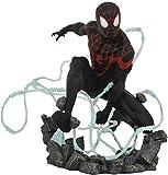 Diamond Select Toys Estatua Marvel Premier Collection: Miles Morales Spider-Man, Multicolor...