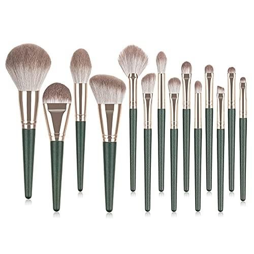 Makep Brush Set Set Face Blush Beauty Beauty Foundation Cosmétique Fondation Power Blushs Kit D'outils Cosmétiques À Lèvres 14pcs