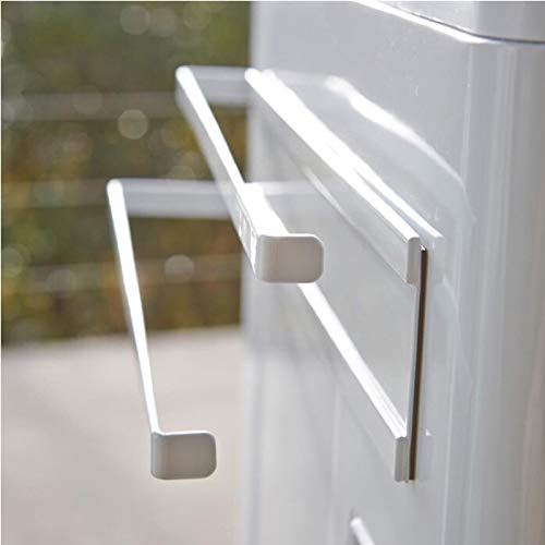 Küchenlappen-Magnetseitenwand-Rack-Kühlschrank-Rackspeicher-Durchschlag-freier Handtuchhalter-Abflussregal-Rackweißmagnet