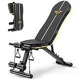 Banc de musculation pliable multifonction réglable, banc de musculation plat, banc de fitness, 7 positions, charge maximale : 250 kg
