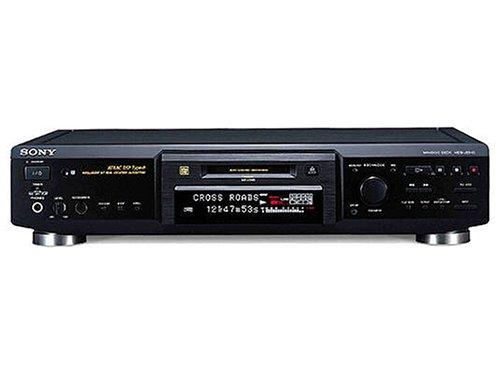Sony MDS-JE640/B MiniDisc-Deck schwarz