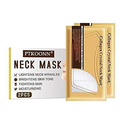 Collagen Protein Neck Mask, Lifting Neck Mask, Anti Wrinkle Neck Mask, Anti Aging Pulling Nourishing Neck Care Mask, Eliminates fine lines on the neck by Ptkoonn