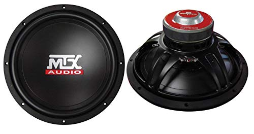 "MTX AUDIO TN1004 10"" 600W Car Power Subwoofers Subs Woofers PAIR 4 OHM"