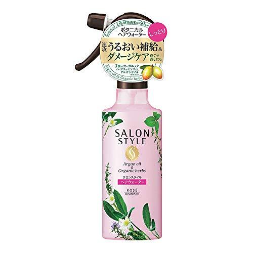 Kose Salon Style Botanical Treatment Hair Water Moist - 250ml (Green Tea Set)