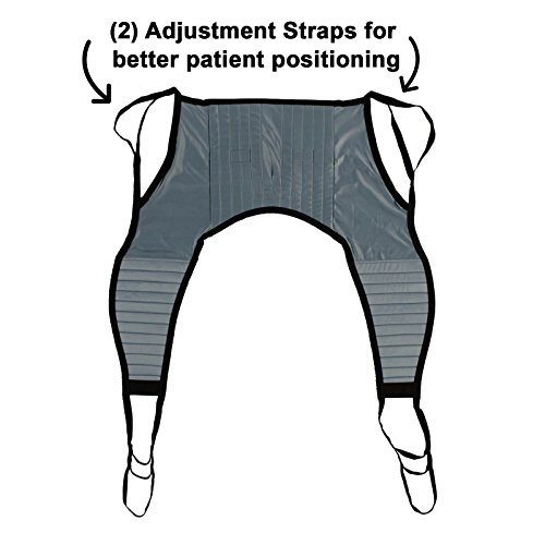 Patient Aid Padded U-Sling Without Head Support,...