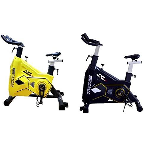 Bici ciclo indoor Profesional (Amarilla)