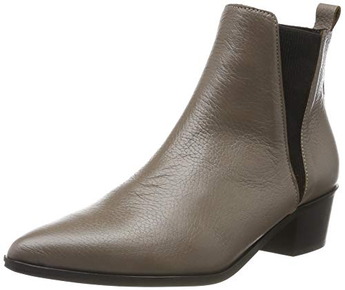 PIECES Pshara Leather Boot, Botines Mujer