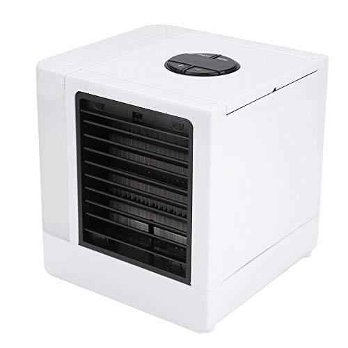 HANYF Super Cooler Portable Air Conditioner with LED USB Mini Desktop Fan Air Conditioner, Easy To Install, Easy To Remove, Reusable Filter Paper