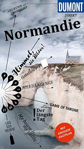 DuMont direkt Reiseführer Normandie: Mit großem Faltplan