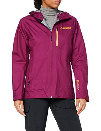 adidas Damen W FastR GTX JKT Sport Jacket, Power Berry, M