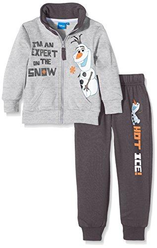Disney Jungen Frozen Olaf Snow Expert Sportwear Set, grau, 3 Jahre