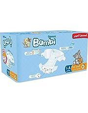 Sanita Bambi, Size 5, XL, 13-25 kg, Super Box, 108 Diapers