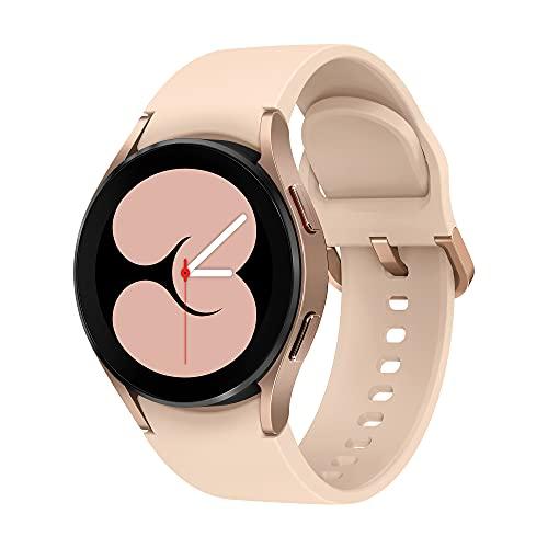 Samsung Galaxy Watch4 - Smartwatch, Control de Salud, Seguimiento Deportivo, Batería de Larga Duración, 40 mm, Bluetooth, Color Dorado (Version ES)