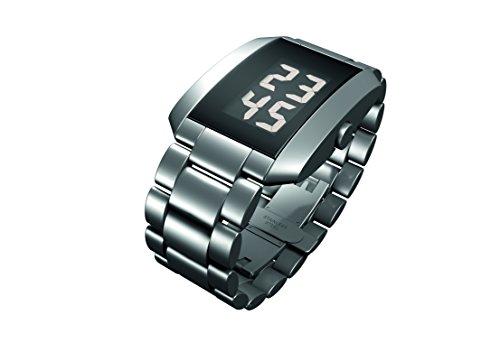 Rosendahl Unisex Digital Quarz Smart Watch Armbanduhr mit Edelstahl Armband 43242