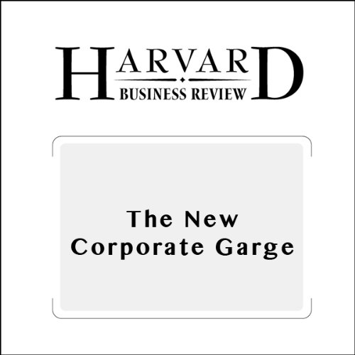 The New Corporate Garage (Harvard Business Review) audiobook cover art