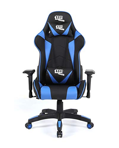1337 Industries Silla GC790 4D (Azul) - Silla Gaming
