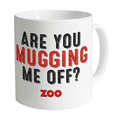 N\A Tasses drôles Tasses à café Zoo Mugging Me Off Mug