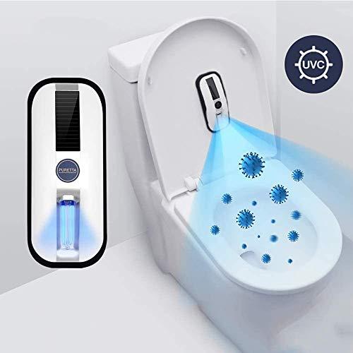 Esterilización Lámpara UVC Móvil Desinfectante Desinfectar Luz Ultravioleta Germicida De La Lámpara UV Desinfección Colgando Inducción De Esterilización De La Lámpara para La Desinfección WC