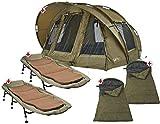 Foxtail Outdoor Zelt, Liege, Schlafsack - Double Set II