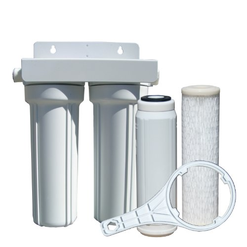 Watts 520022 RV/Boat Duo Exterior Water Filter with Garden Hose Fittings by Watts Water Technologies