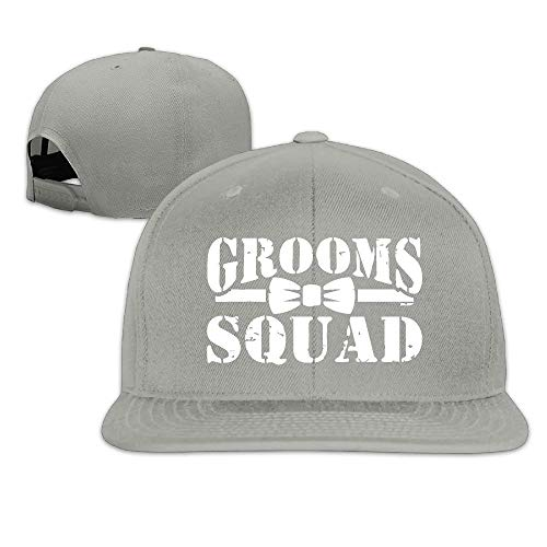 Grooms Squad - Bachelor Party Bow Tie.PNG Hip Hop Hats Youth Caps Adjustable Baseball Caps Black
