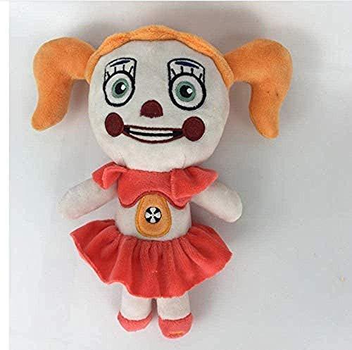LINQ Plüschtiere weiche Spielzeuge FNAF Cuddly Spielzeug Fünf Nächte bei Freddy S Schwester Standort Freddy Foxy Circus Baby Puppe für Kinder 20 cm