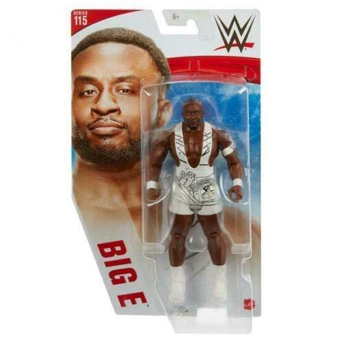 Collect WWE - Serie 115 - Big E - Figura de acción, trae a casa la acción de la WWE...