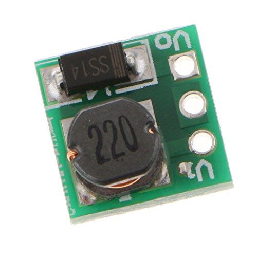 F Fityle 1.5V 1.8V 2.5V 3V 3.3V 3.7V 4.2V To 5V DC-DC昇圧コンバーター昇圧モジュール