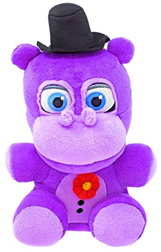 FNAF Five Nights at Freddys Mr. Hippo Plush Stuffed Animal Purple Exclusive Plushy