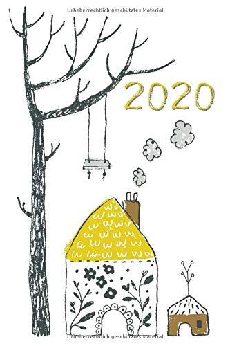 2020: Mein Terminplaner 2020 mit Seitenweise Leben | Terminplaner | Wochenkalender | Monatskalender für 2020 im praktischen Taschenformat mit tollen niedlichen Motiv