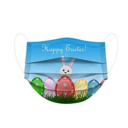 Pañuelo para niños de Pascua de dibujos animados desechables de protección de tres capas transpirable facial