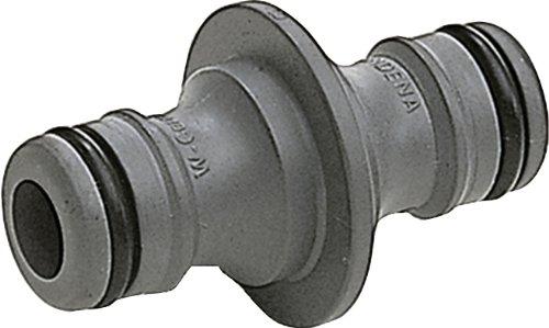 Gardena Kupplung: Verbindungsteil zur sicheren Verbindung zweier Schläuche, auch zum Übergang von 19 mm (3/4 Zoll)- auf 13 mm (1/2 Zoll)-Schläuche (931-50)