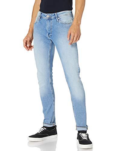 Jack & Jones JJILIAM Jjoriginal NA 032 Jeans, Bleu Denim, 33W x 32L Homme