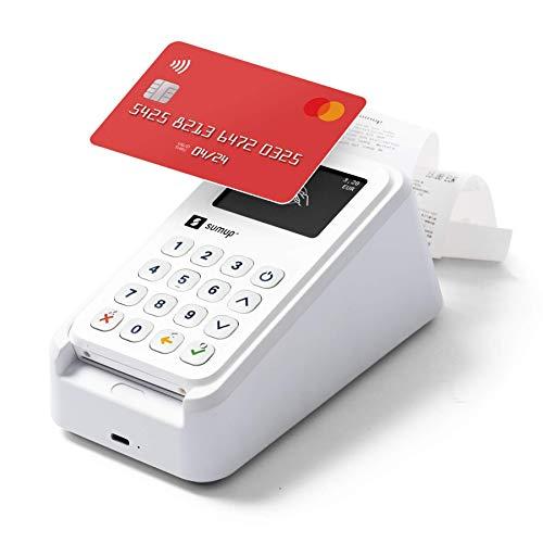 SumUp 3G + Stampante - Lettore di carte SumUp 3G con Wi-Fi e Stampante inclusa Base di Ricarica