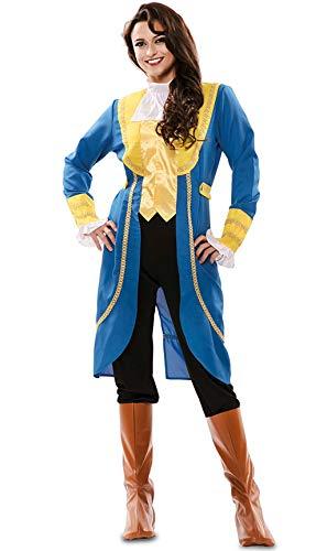 Disfraz de Príncipe Bestia para mujer
