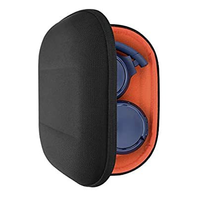 Geekria UltraShell Case Compatible with JBL Tune 510BT, Tune 660 BTNC, Tune 560BT, Tune 500BT, E45BT Headphone, Replacement Protective Hard Shell Travel Carrying Bag with Cable Storage (Black) from Geekria
