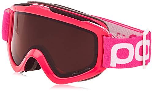 POC Sports POCito Iris Lunettes de Protection Mixte Enfant, Fluorescent Pink, One Size
