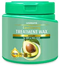 WATSONS Avocado Treatment Wax 500ml-For Dry or Dull Hair. Enjoy Salon Treatment for Your Hair at Home.