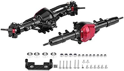 HoganeyVan 1 10 Rc Voiture complète en Alliage Avant et essieu arrière CNC usinée pour 1h10 Rc sur chenilles AXIAL SCX10 RC4WD D90 pièces de Camion