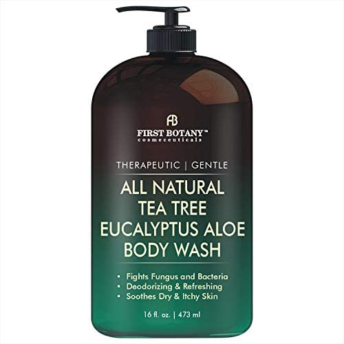 ALL Natural Tea Tree Body Wash Fights Body Odor Athlete s Foot Jock Itch Nail Issues Dandruff product image