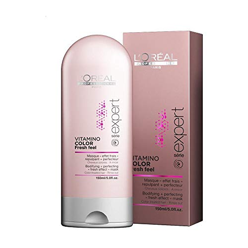 L'Oréal Professionnel Vitamino Color Fresh Feel Bodifying - Mascarilla de cabello, 150 ml