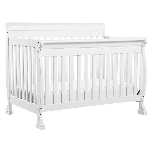 da vinci cribs DaVinci Kalani 4-in-1 Convertible Crib in White, Greenguard Gold Certified