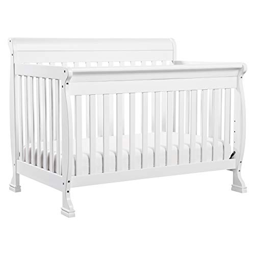 DaVinci Kalani 4-in-1 Convertible Crib in White | Greenguard Gold Certified